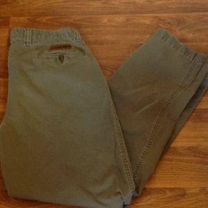 Polo jeans co Ralph Lauren green khaki pants 34
